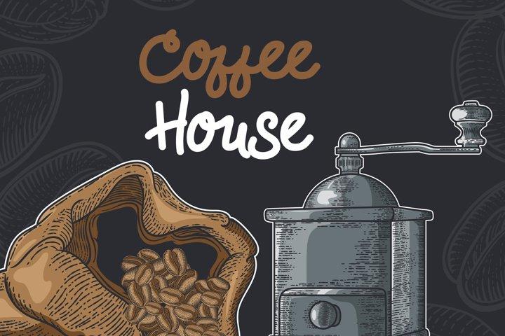 15 designs - Coffee restaurant brochure vector, coffee shop