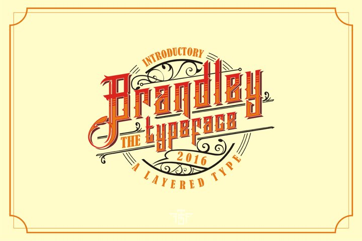 Brandley - Free Font of The Week Font