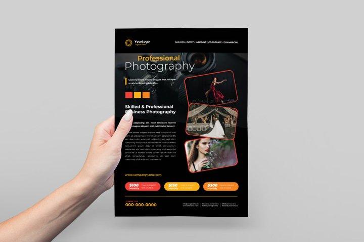 Photography Flyer Design