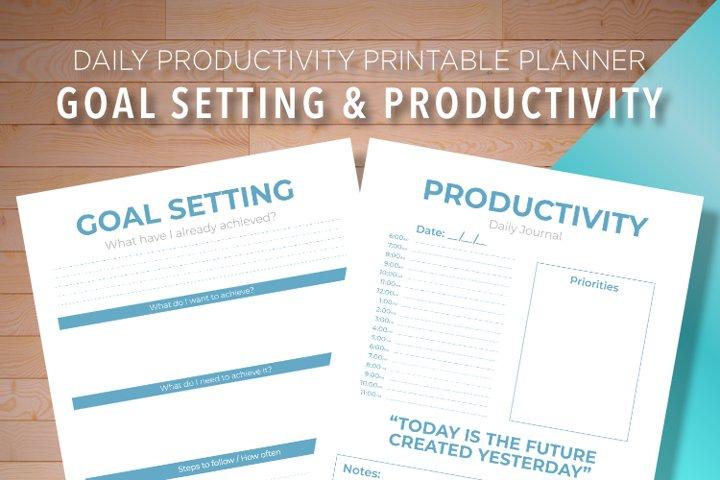 Goal Setting & Productivity