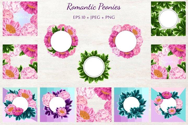 Romantic Peonies example 3