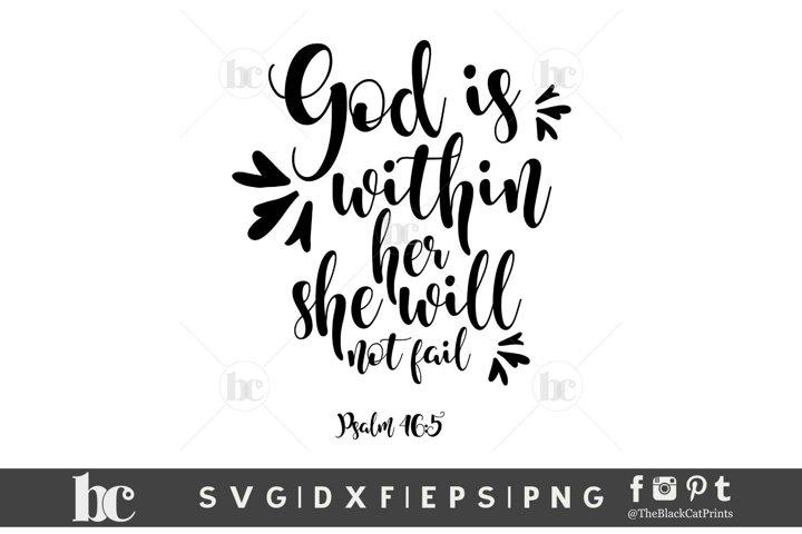 CUSTOM ORDER Psalm 465 SVG PNG EPS DXF