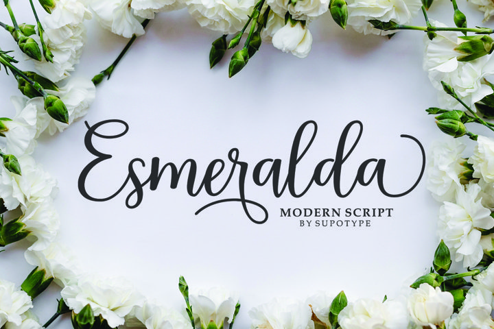 Esmeralda Script - Free Font Of The Week
