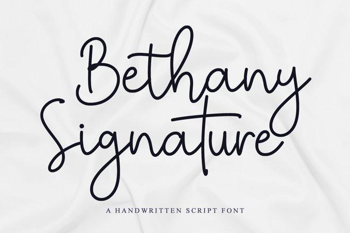Bethany Signature