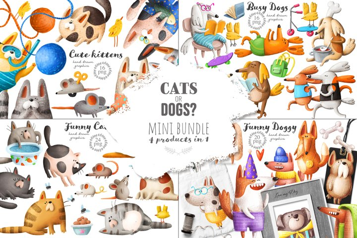 Cats and Dogs mini bundle