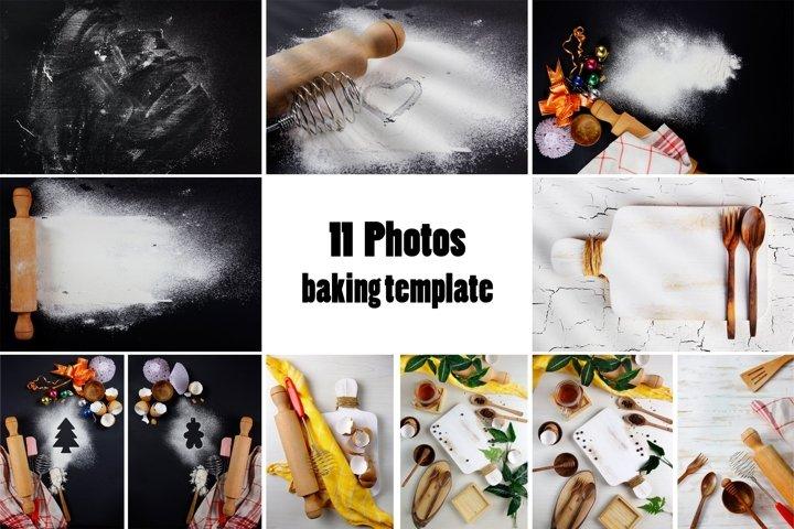 baking illustration photo and background
