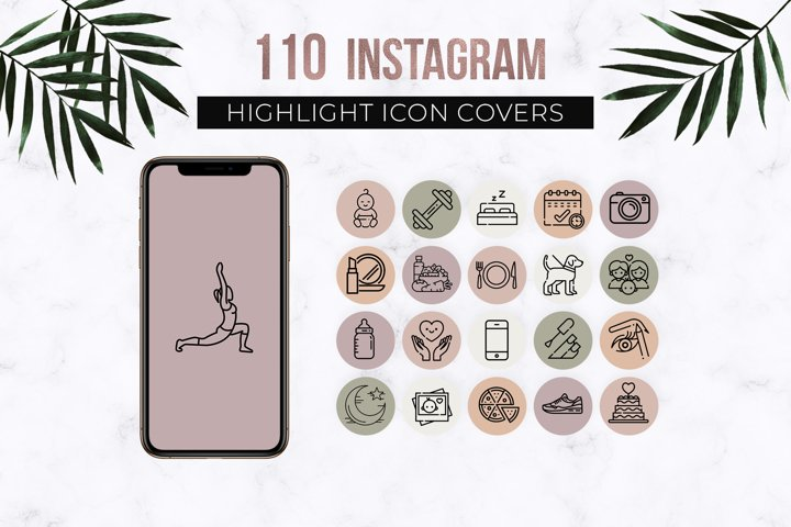 110 Instagram Story Highlight Covers