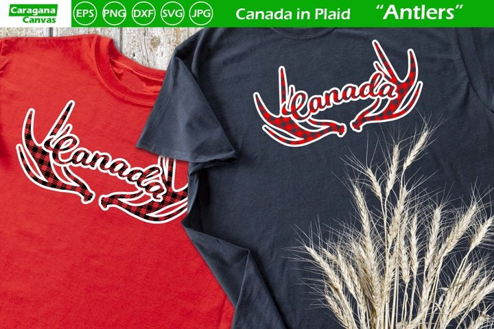 Canada in Plaid - Antlers