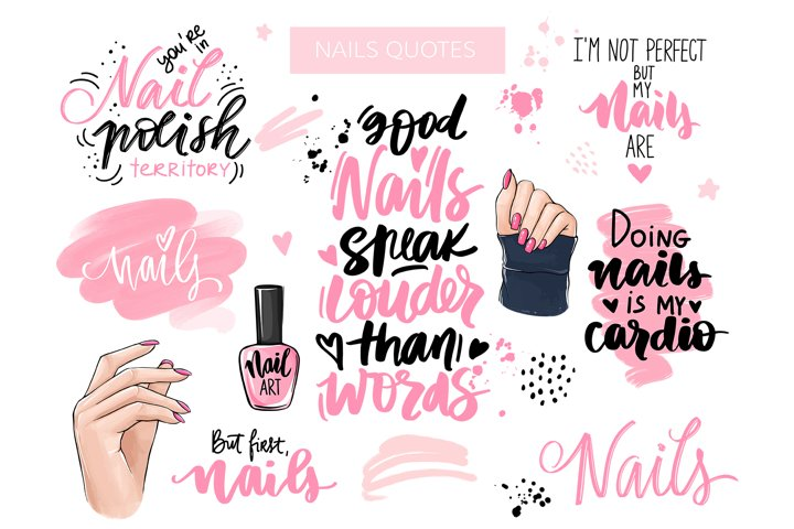 Nails & Quotes