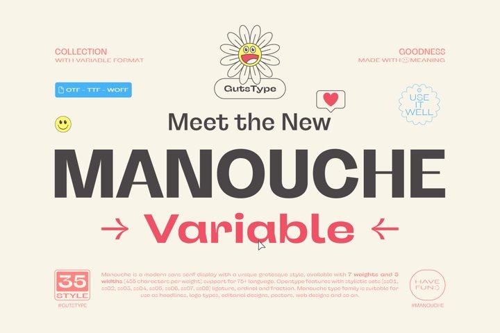 Manouche Font Family