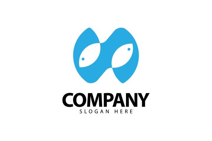 Double Fish Logo