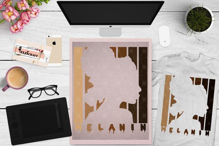 Melanin Shades SVG, Love Melanin SVG, Melanin Poppin SVG