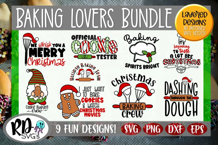 Baking Lovers Crafters - A Christmas Cricut Cut File Bundle