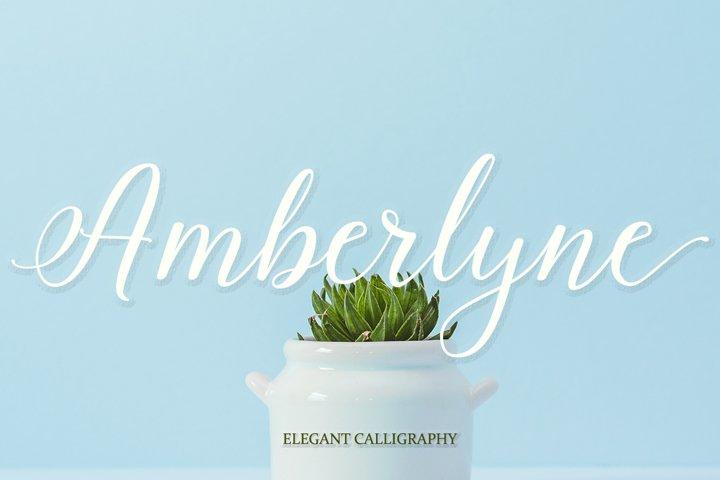 Amberlyne Script (25% Off)