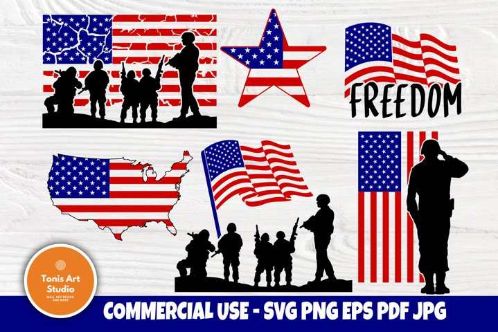 American Flag SVG, USA Flag Svg, Patriotic Svg, Usa Shirt