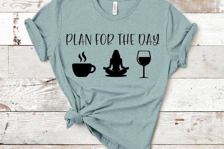 Plan For The Day, Wine Version 3