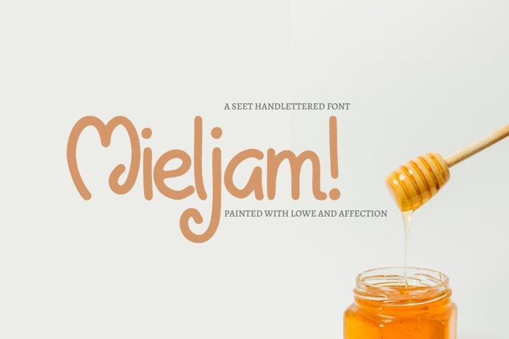 Mieljam - Hand-written Font