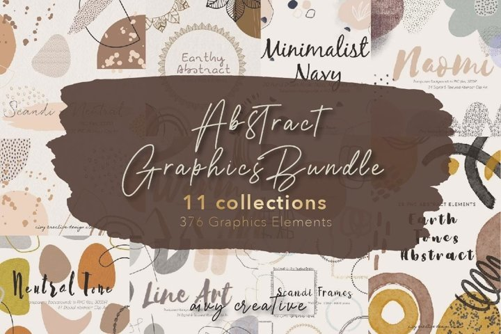 376 Abstract Graphics Bundle