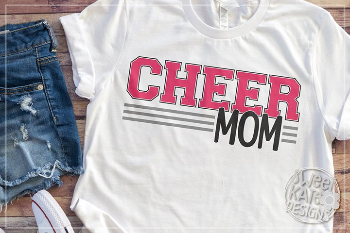 Cheer Mom SVG DXF EPS PNG JPG