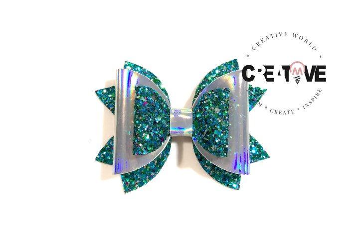 New Classic Hair Bow Digital Template   Bow Template  CWC135