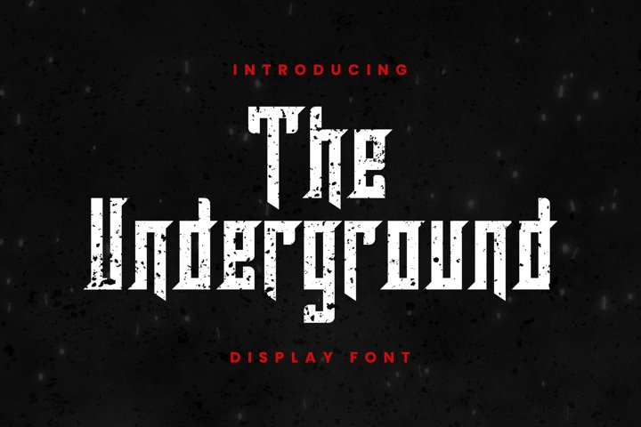 The Underground Font