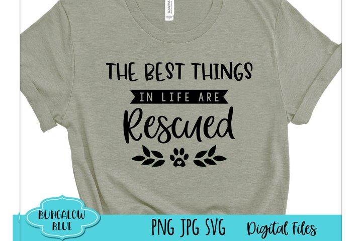 Best Things in Life are Rescued Laurel Digital Download