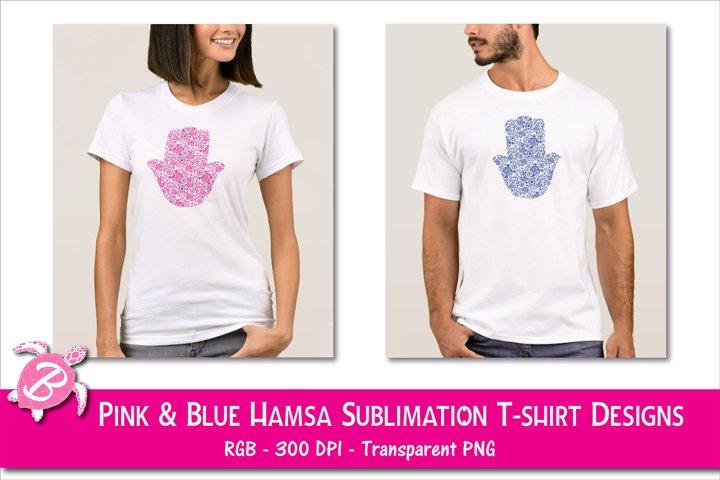 Sublimation Designs For T Shirts - Hamsa Hands