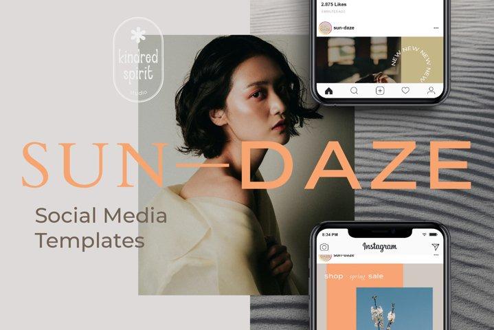 Sun-Daze Instagram Stories & Posts