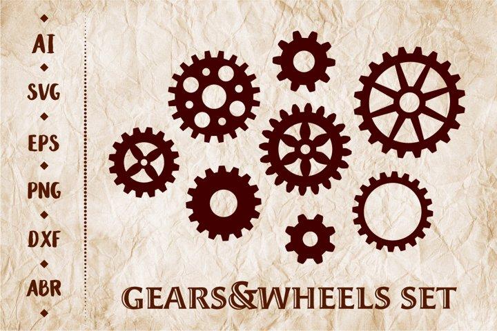 Gears&Wheels set
