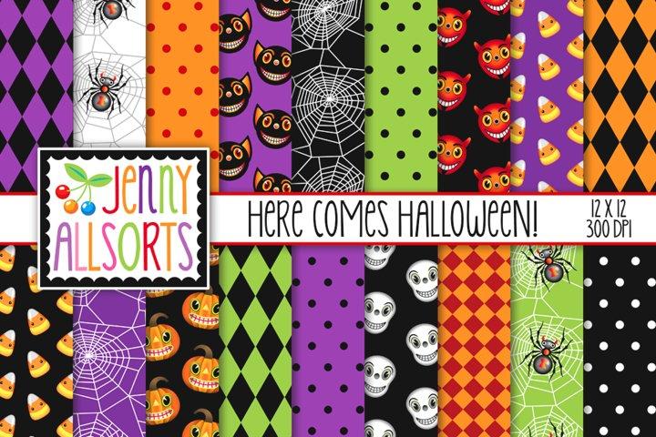 Here Comes HalloweenDigital Papers