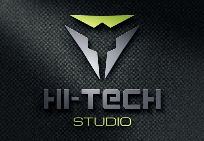 Modern Hi-Tech Logo example