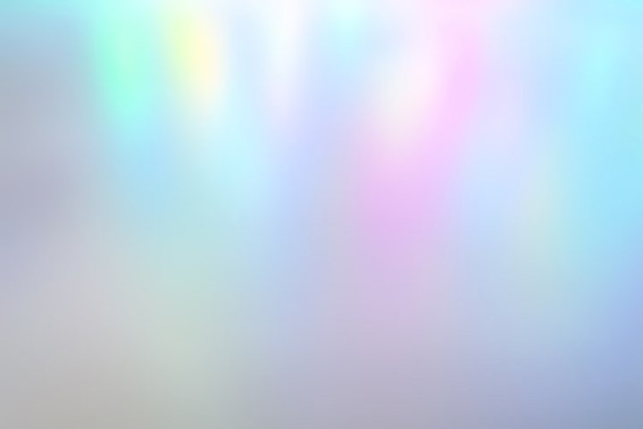 Iridescent holographic abstract pale colors background light