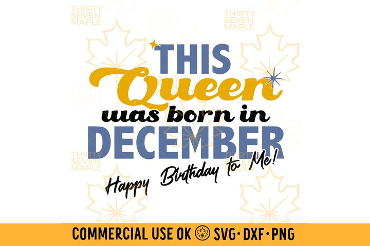 This Queen was born in December
