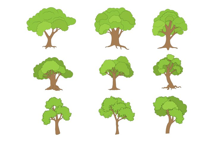 tree shape collection