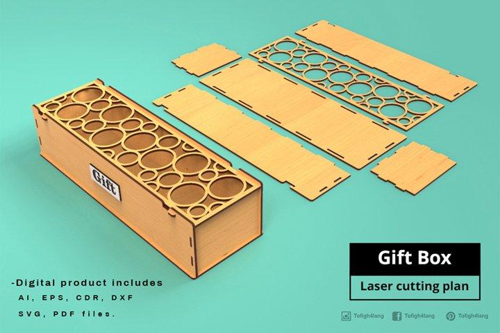 Gift Box - Laser cutting File