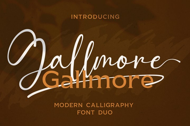 Gallmore // Chic Font Duo
