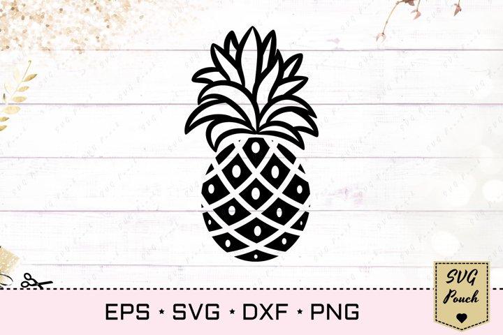 Pineapple SVG silhouette