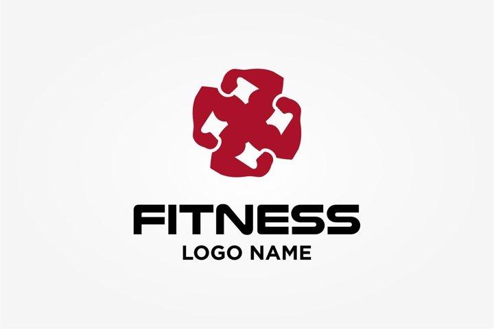 logo hand, gym, vitness inspiration