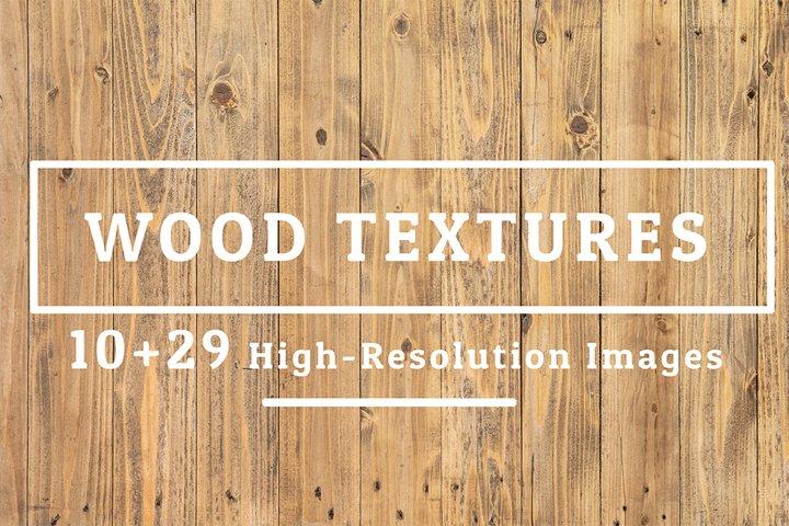 10+29 Wood Texture Background Set 05