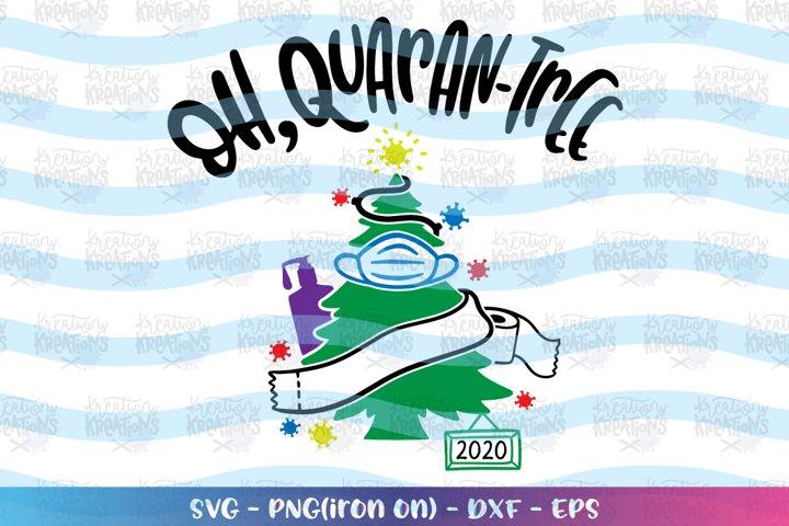 Christmas svg Oh, Quaran-Tree