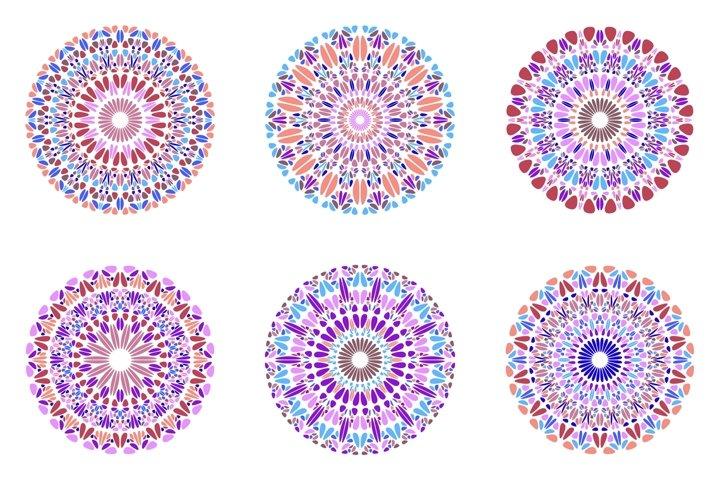 24 Floral Mandala Logo Templates example 1