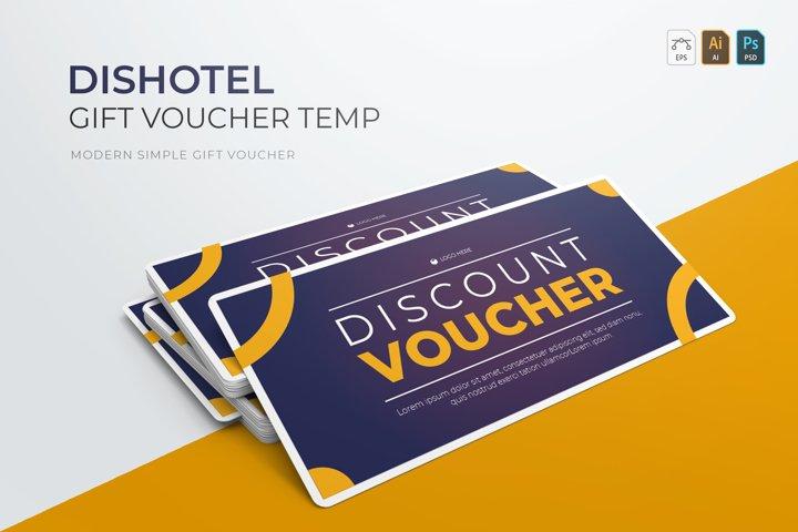 Dishotel | Gift Voucher