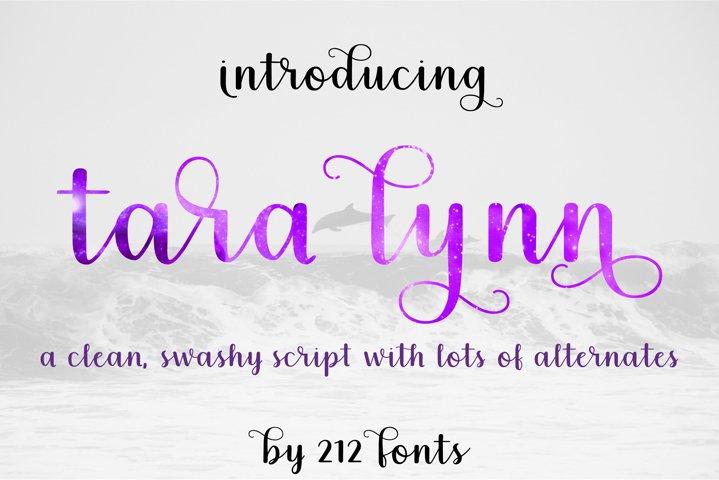 Tara Lynn Script Swash OTF Font