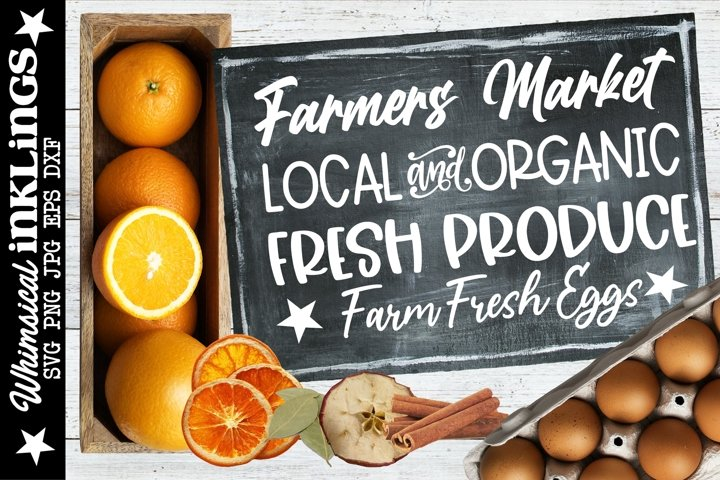 Farmers Market SVG