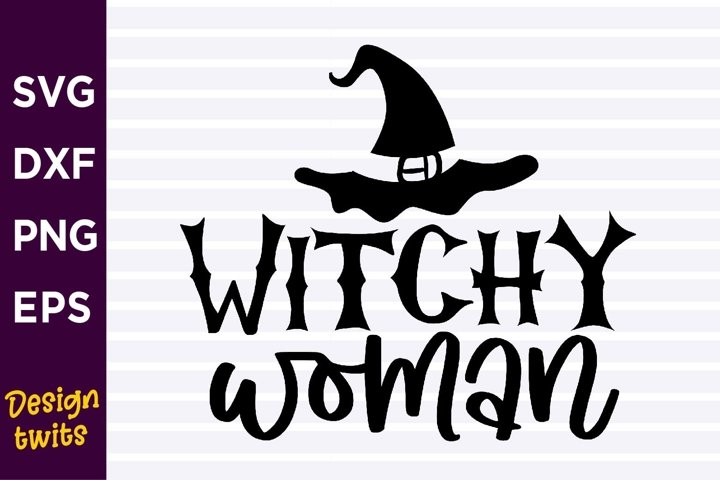 Witchy Woman SVG
