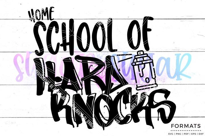 Homeschool of Hard Knocks svg