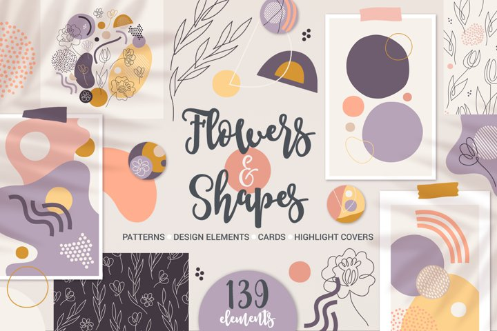Flowers & Shapes Kit
