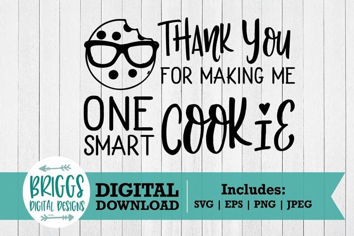 Pot Holder SVG   One Smart Cookie SVG-Teacher Thank You Gift
