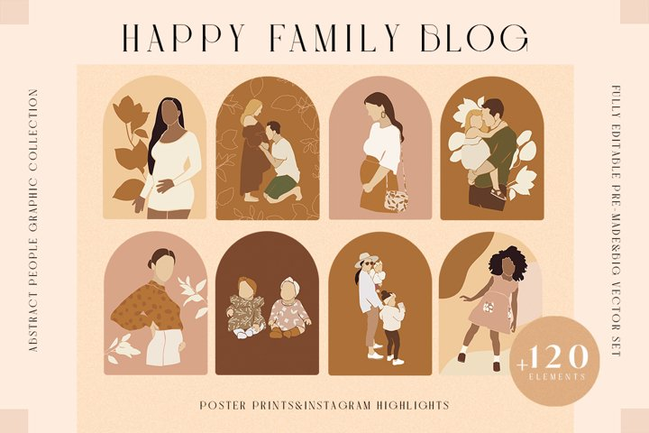 Happy Family Blog Kit