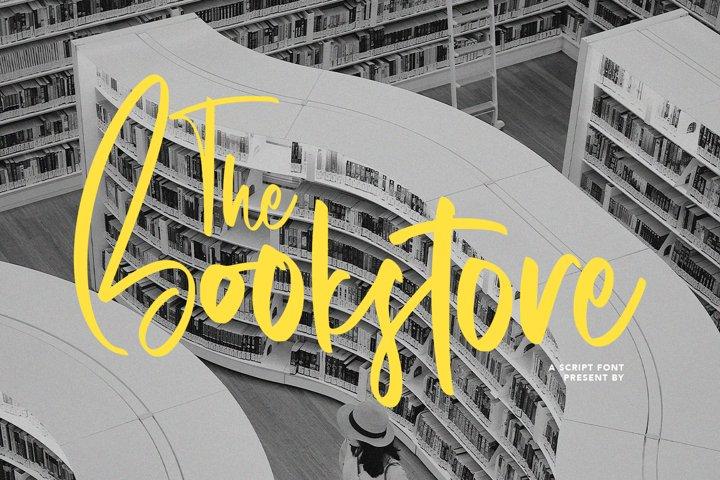 Bookstore - A Script Font
